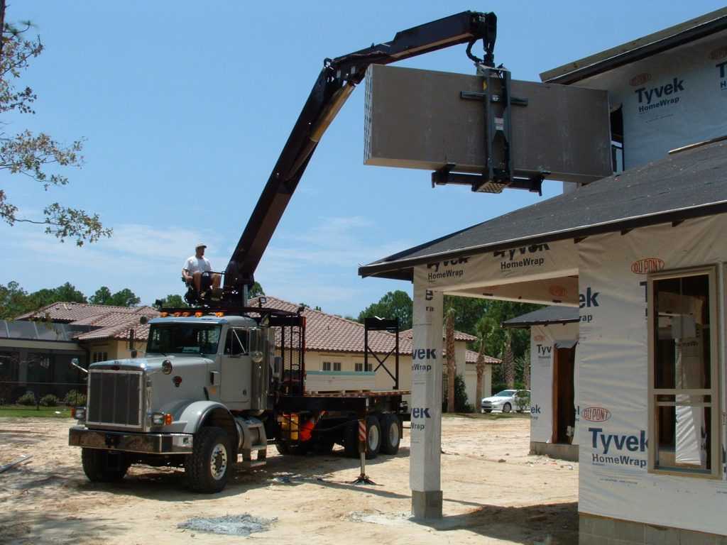 Drywall Crane Truck Repair